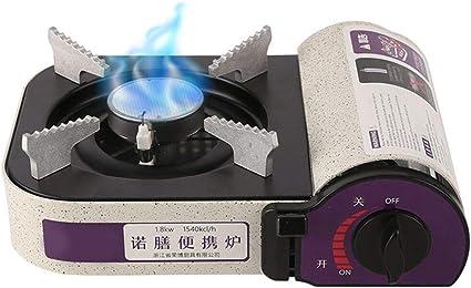Lixada 1800W infrarrojo mini cassette parrilla camping butano ...
