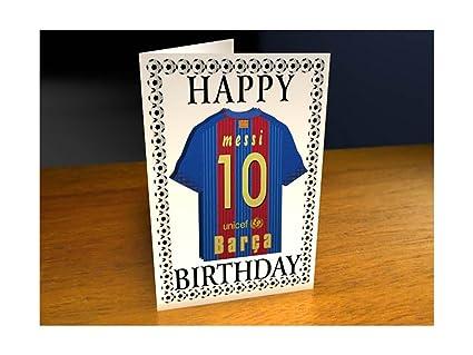 Felicitaciones De Navidad Del Fc Barcelona.F C Barcelona Personalizable Tarjeta De Felicitacion Por