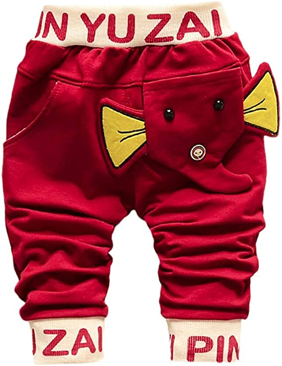 PinkLu Pantalones Harem De NiñOs TiburóN Gran Lengua Pantalones Bebé NiñOs NiñAs Dibujos Animados TiburóN Lengua Harem: Amazon.es: Ropa y accesorios