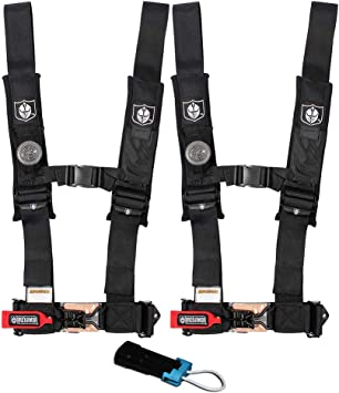 Pro Armor Black seat belt for the Polaris RZR xp 1000 xp1000 safety harness