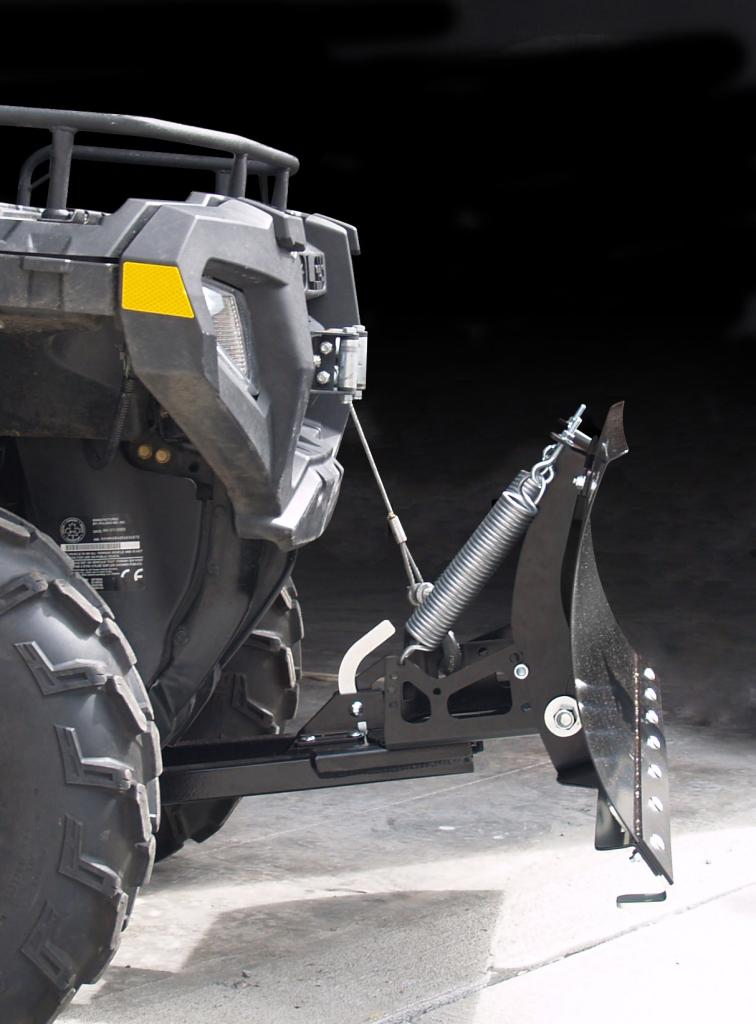 Yamaha Grizzly  Snow Plow Mount