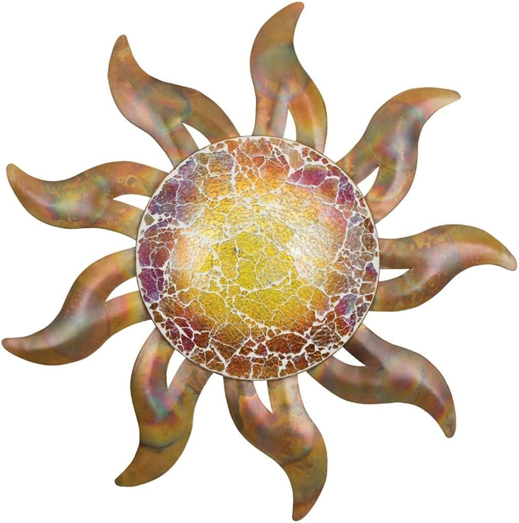 Regal Art & Gift 20463 Flamed Copper Sun Decor 21 Wall Décor
