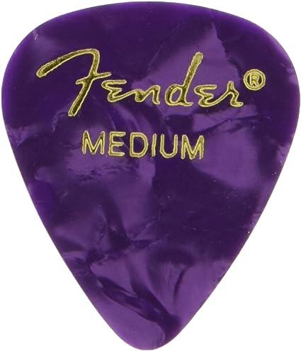 Fender 351 Shape Premium - Púas para guitarra eléctrica, acústica ...