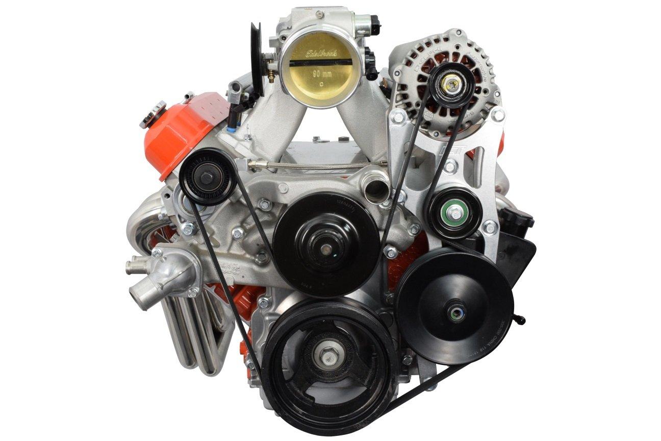 LS OEM Location Truck Alternator & Tight Power Steering Bracket Chevelle Camaro Nova LQ4 551747 ICT Billet