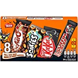NESTLÉ Full-Sized Halloween Assorted Chocolate & Candy - KITKAT, Coffin Crisp, SCAERO, SCARIES - 364g (Pack of 8 Bars)