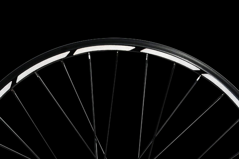 Aufkleber für Räder Bicycle Reflect Stickers Sichere Streifen Warnband spiegeln