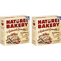 Nature's Bakery Strawberry Oatmeal Crumble, Whole Grain Bar, Vegan, NonGMO - 12 ct
