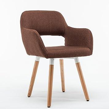 Stühle modern holz  Reception Chairs Stuhl Holz Massiv Esszimmerstuhl Modern Einfache ...