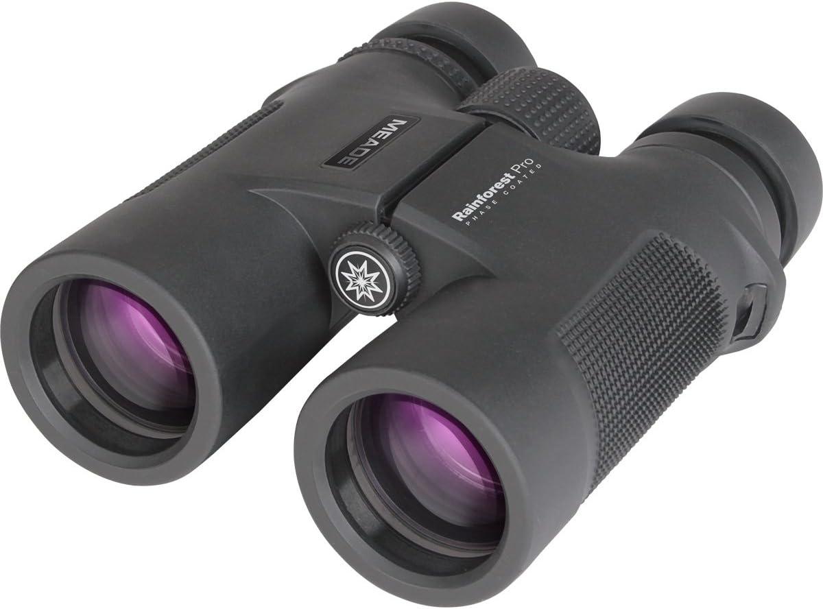 Meade Instruments 125042 Rainforest Pro Binoculars – 8×42 Black