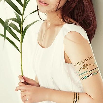Flash Tatuajes, Oro Tattoo, piel Tatuajes, joyas con mariposas y ...