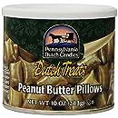 Pennsylvania Dutch Candies Peanut Butter Pillows, 10-Ounces Tins (Pack of 4)