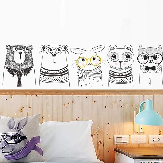 Armarios frigoríficos animales de dibujos animados Jenga conejo zorro sala de niños sala de estar sofá armarios frigoríficos: Amazon.es: Bricolaje y herramientas