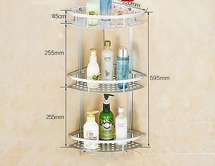 Toilette Da Bagno : Scaffali da bagno rack per bagni non perforati toilette lavabo