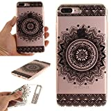 ipod 3d wheel covers - iPhone 7 Plus - Case, iPhone 8 Plus Case, MerKuyom [Clear Transparent] [Slim-Fit] [Flexible Gel] Soft TPU Case Skin Cover +Stylus For Apple iPhone 7 Plus / iPhone 8 Plus 5.5