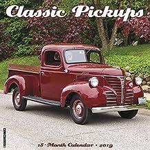 Classic Pickups 2019 Wall Calendar