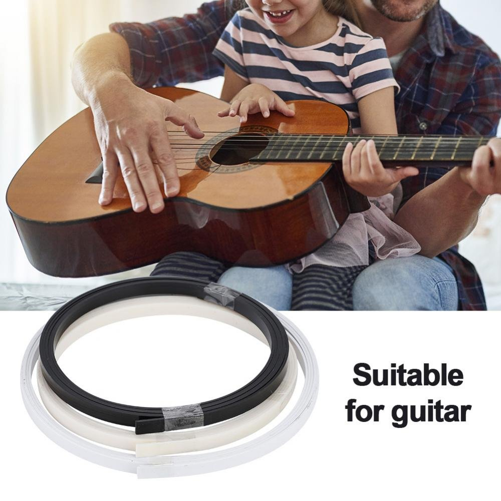 chitarra binding filetto strisce 166,1/cm Dilwe 3/fettucce strisce per chitarra