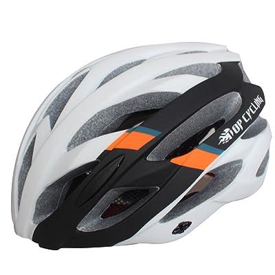 260g Ultra léger - Casque de vélo spécialisé, Casque de vélo de sport réglable Casques de vélo pour vélo de route et de montagne, Motocyclette pour hommes et femmes adul