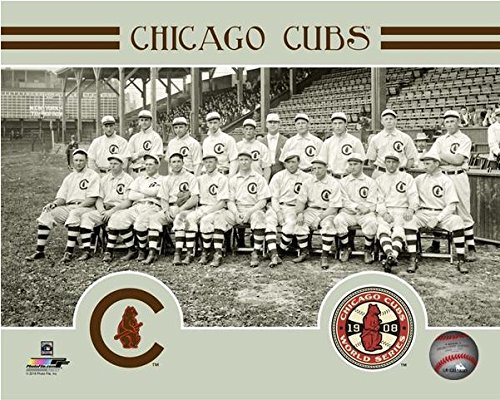 Chicago Cubs 1908 World Series Formal Team Photo (8