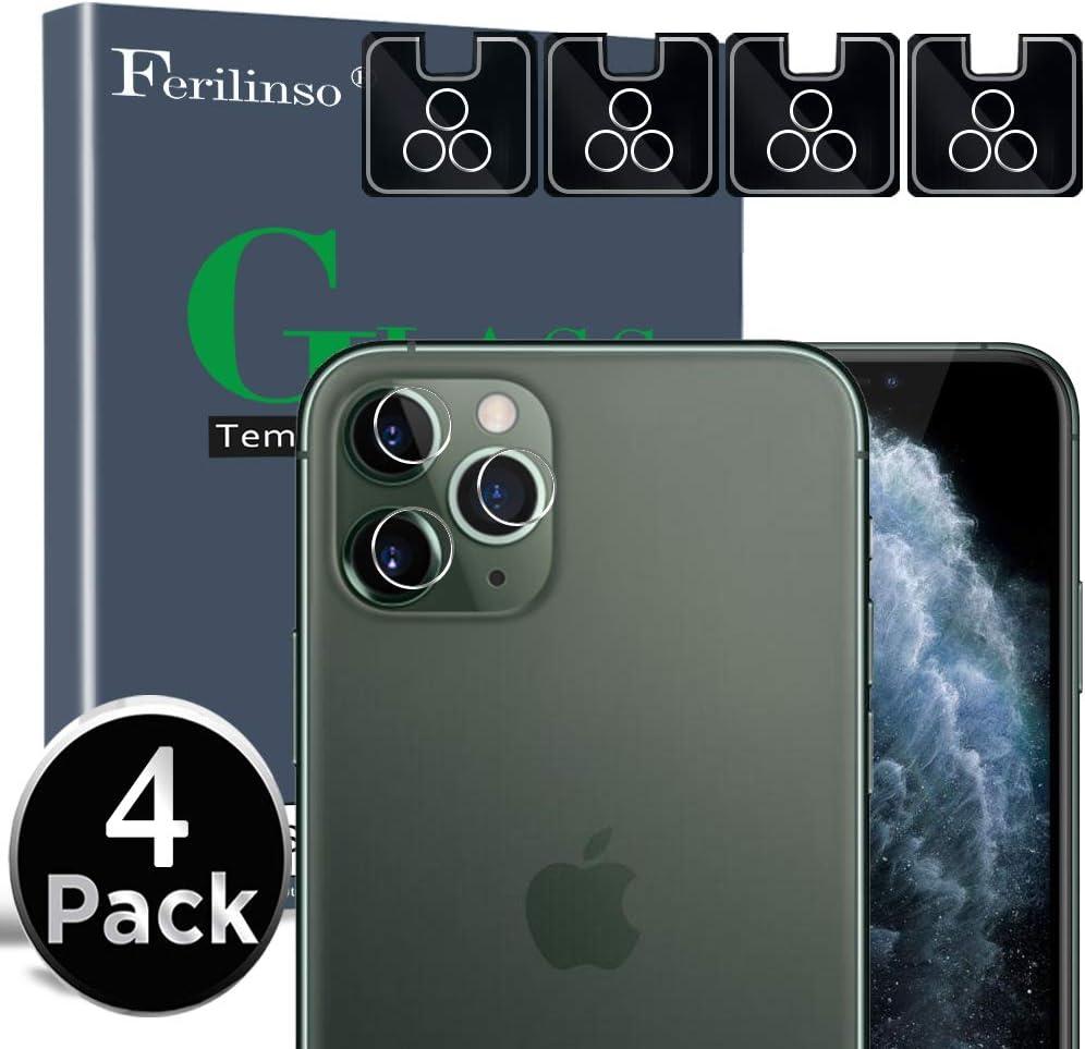 Ferilinso Protector de Lente de cámara para iPhone 11 Pro/iPhone ...