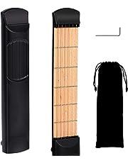 Pocket Guitar Practice Neck, EONLION 6 Fret Portable Guitar Chord Practice Tool for Beginner