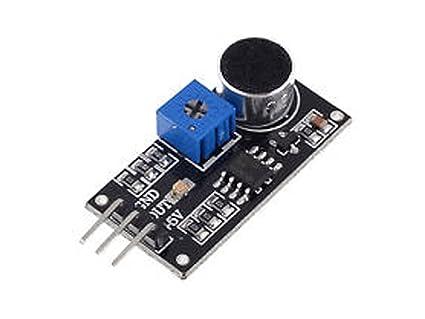 Detector de sonido Sensor acústico LM393 Módulo Micrófono para Arduino