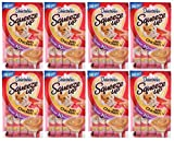 Delectables Squeeze Up Lickable Wet Cat Treats Chicken - Senior 10 Years + 32 Tubes