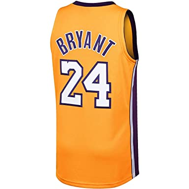 new concept bc57d 55caf Amazon.com: Kobe Bryant Mitchell & Ness Gold 2008-09 ...