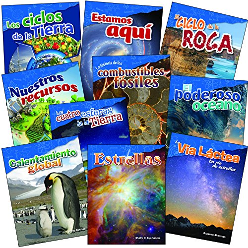 (Let's Explore Earth & Space Science Grades 4-5 Spanish, 10-Book Set (Science Readers: Content and Literacy) (Spanish Edition))