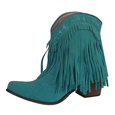 Womens Fashion Zip Ankle Boots Short Tube Boots Wedge Boots Ladies Casual Chelsea Elegant Party Shoes Green,4.5 UK