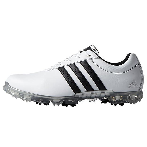 new concept 0a69e 78aa4 adidas Adipure Flex WD, Zapatos de Golf para Hombre, BlancoNegro  Plata,  46.5 EU Amazon.es Zapatos y complementos