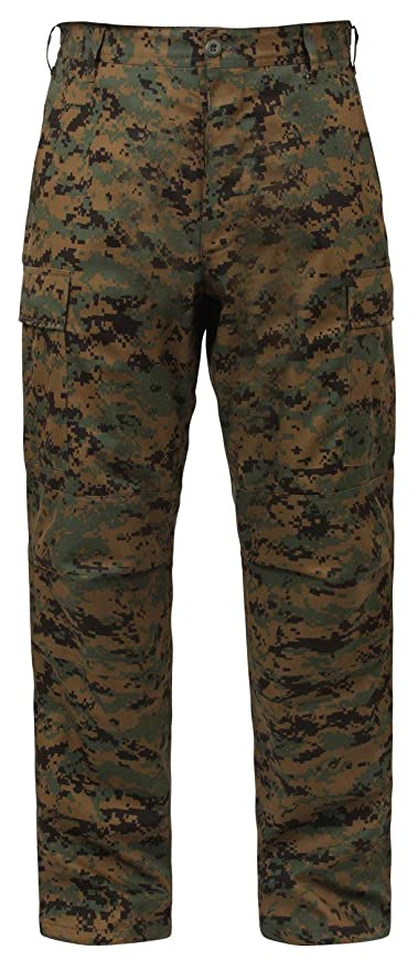 056599ee3c Amazon.com: Rothco BDU Pant - Woodland Digital: Sports & Outdoors