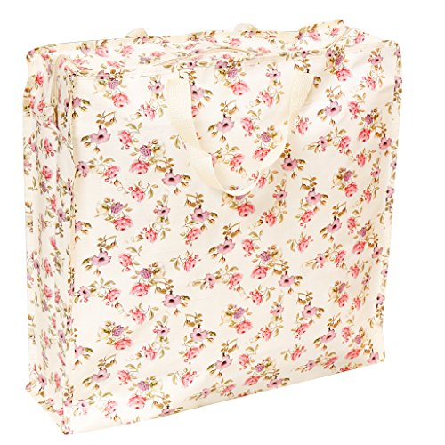 Any Shopping Trip Shopper For H44 Accessory The D14 x x Vine Woven Floral Bag Ultimate 5cm Reusable W44 qSAzSv
