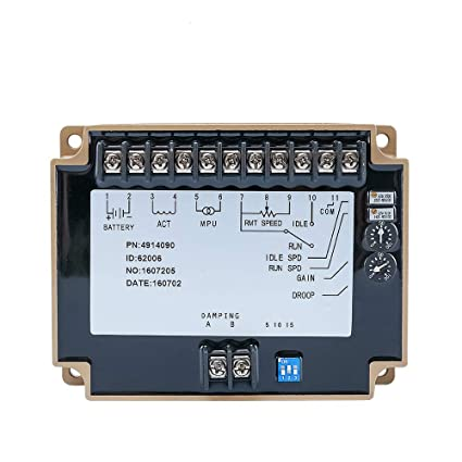 Sruik Tool Engine Speed Controller Governor 4914090 For