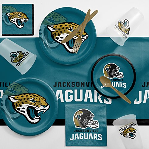 - Creative Converting Jacksonville Jaguars Game Day Party Supplies Kit