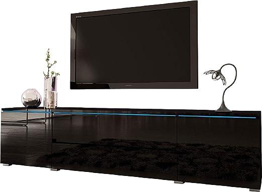 Meble Furniture & Rugs Jordan - Mueble de TV para televisores de hasta 88