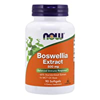 NOW Supplements, Boswellia Extract 500 mg in MCT Oil Base, Balanced Immune Response...