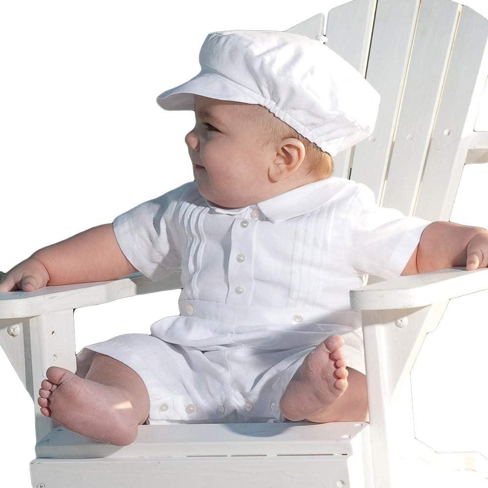 Kaizizizi Tutina da Marinaio e Cappello Tutina per Neonato