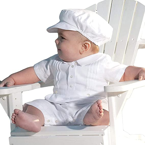 86acfdc8e Image Unavailable. Image not available for. Colour: ShineGown Baby Boys' Christening  Outfit ...