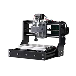 Genmitsu CNC Router Kit 1810-PRO GRBL Control 3 Axis Plastic Acrylic PCB PVC Wood Carving Milling Engraving Machine, XYZ Working Area 180x100x45mm