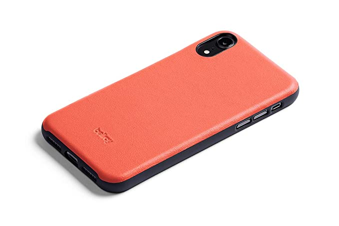 info for 13564 7b774 Bellroy Leather iPhone XR Phone Case - Coral