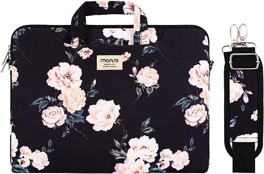College Students Business People Office Wo Briefcase Messenger Shoulder Bag for Men Women Laptop Bag Gears Machine Pattern 15-15.4 Inch Laptop Case