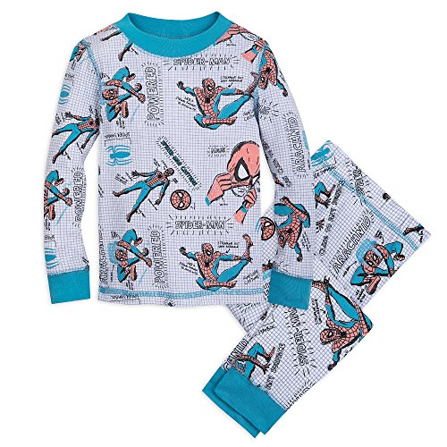 Marvel Spider-Man PJ PALS for Boys Size 6 Multi