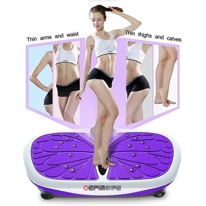Plataformas vibratorias Placa De Vibración De Fitness Crazy ...