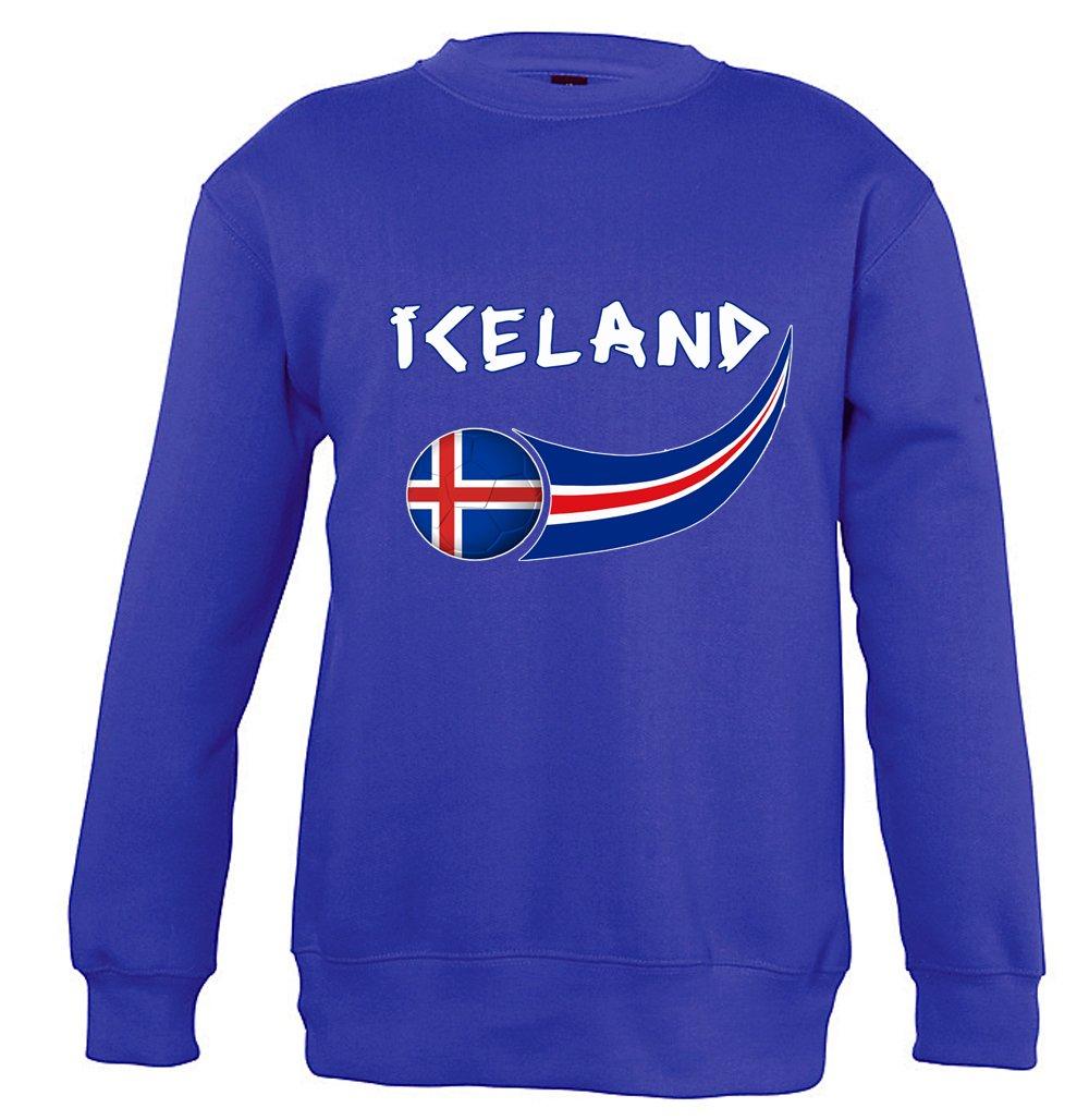 Supportershop 4Sweatshirt Island 4Unisex Kinder, Blau Royal, fr: S (Hersteller Größe: 4Jahre) SUPQM|#Supportershop 5060542523752