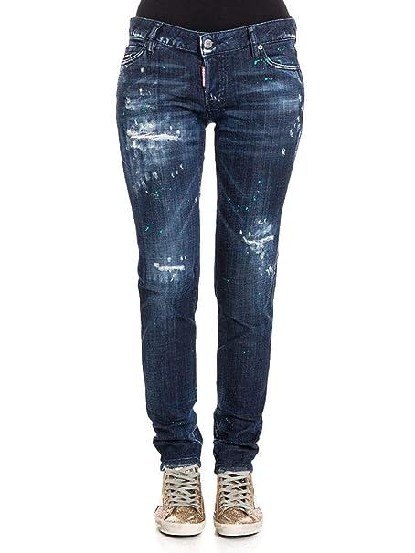 DSQUARED2 Mujer S72LB0017S30342470 Azul Algodon Jeans ...