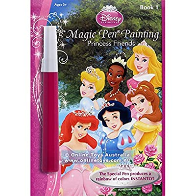 Lee Publications Royal Friends Disney Princess Invisible Ink Book: Toys & Games