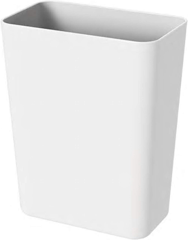 con agujeros inferiores estante de almacenamiento de utensilios de cocina de estilo del norte de Europa mantener seco a prueba de herrumbre Soporte para palillos de utensilios de cocina Blanco