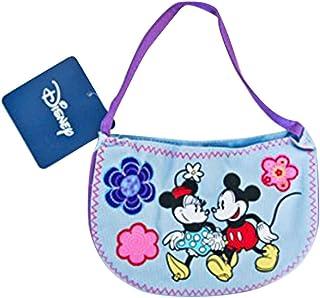Mini sac à main Mickey et Minnie de Disney pour fille bleu - Longueur 16cm 32810