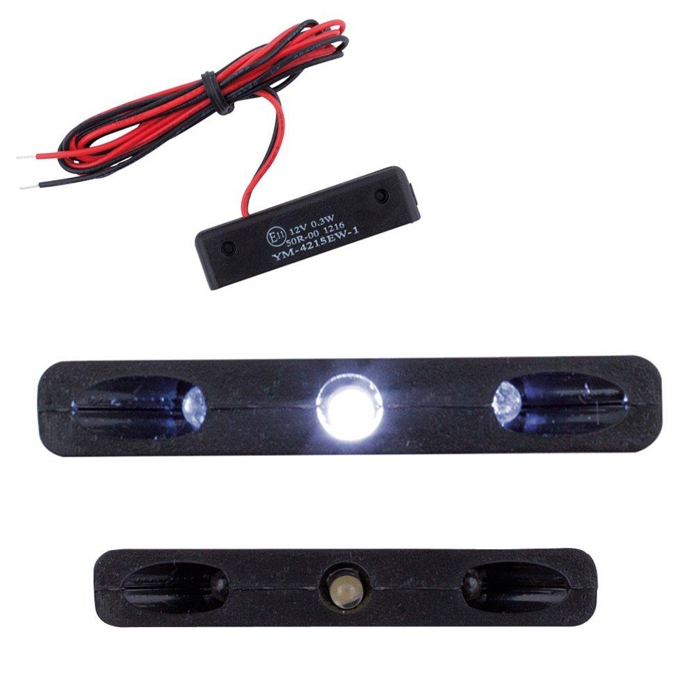 LED Mini Micro Kennzeichen Beleuchtung Nummernschildbeleuchtung Motorrad Roller Quad ATV Auto Caravan X5 mit Zulassung