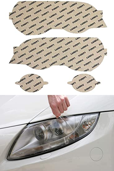 Lamin-x B502-1CL Headlight Film Covers B502CL